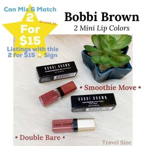 Bobbi Brown 2 Mini Lip Colors